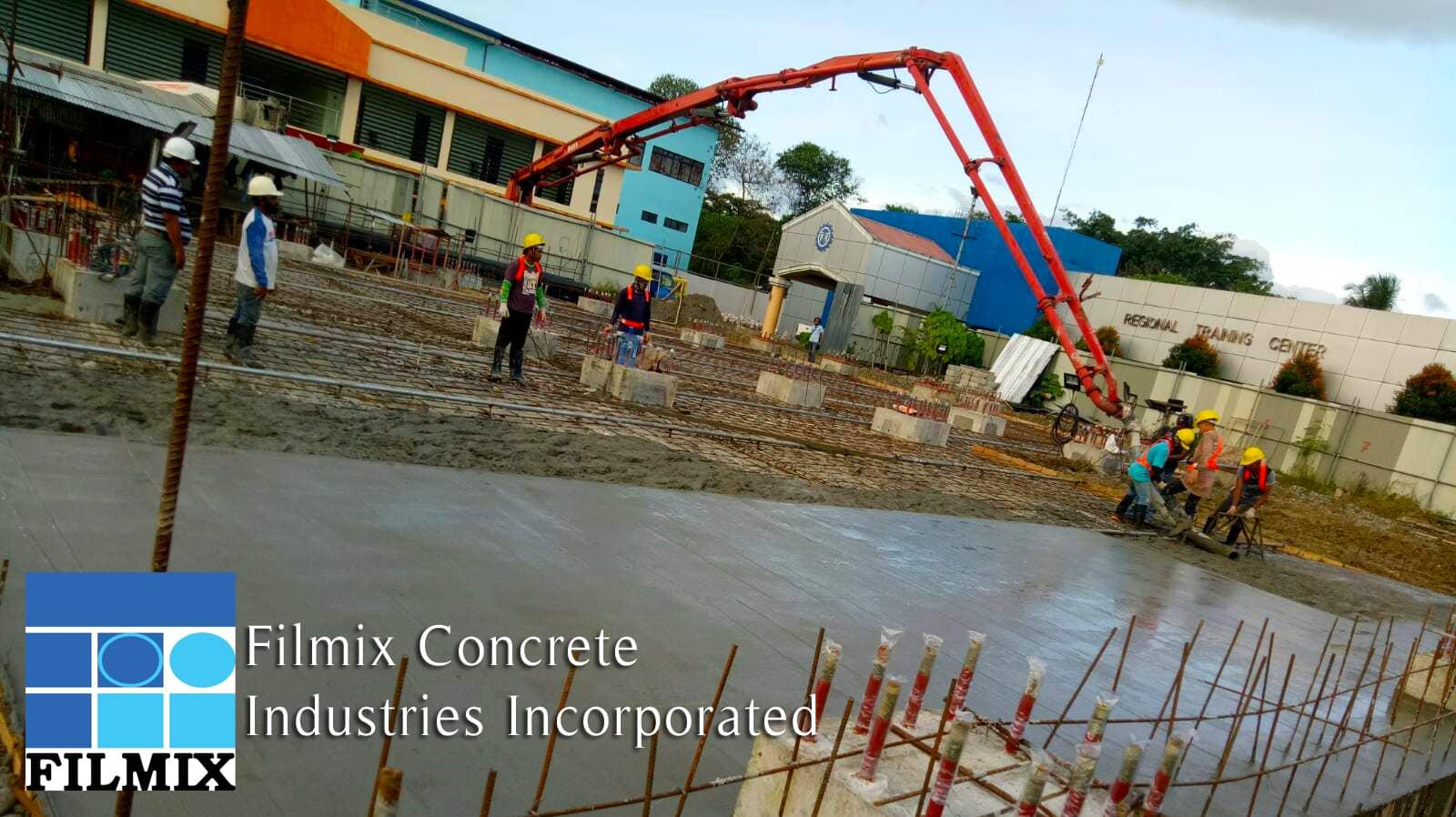 Filmix ready-mix concrete DPWH
