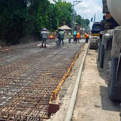 Filmix project for bridge in Digos City.