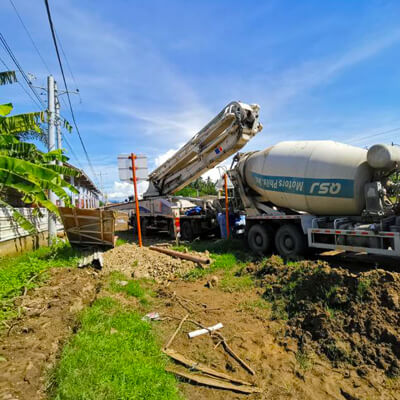 Filmix supplies quality ready made concrete in Digos City