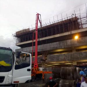Gaisano Mall Butuan Construction with Filmix Ready Mix Concrete