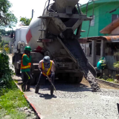 Filmix is the leading Davao ready mix concrete producer