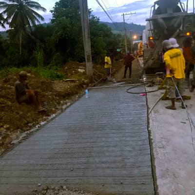Filmix project for Calinan road