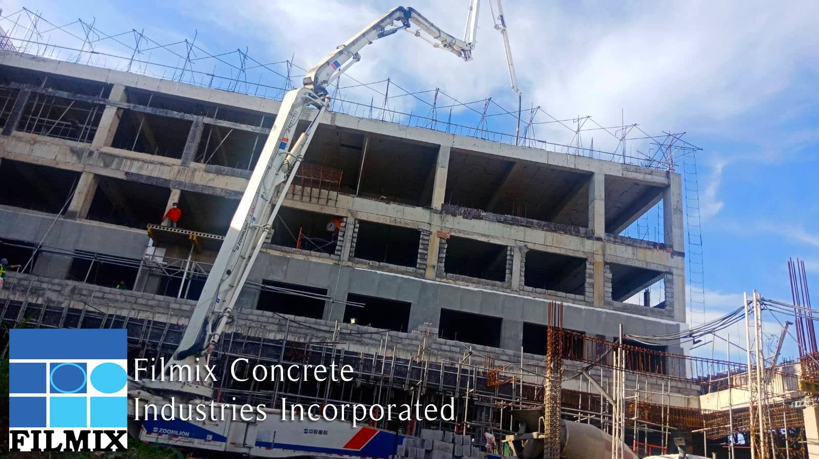 Construction of new Summit Hotel branch in Gensan using Filmix rmc