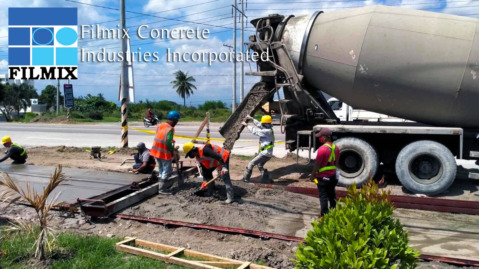 Ready-mix concrete from Filmix is premium quality