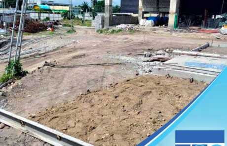 Using Filmix ready-mix concrete for Summit hotel construction in General Santos