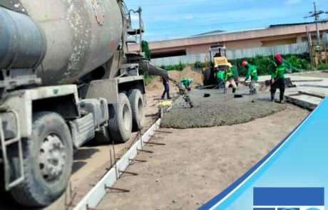 Using Filmix ready-mix concrete for Summit hotel construction