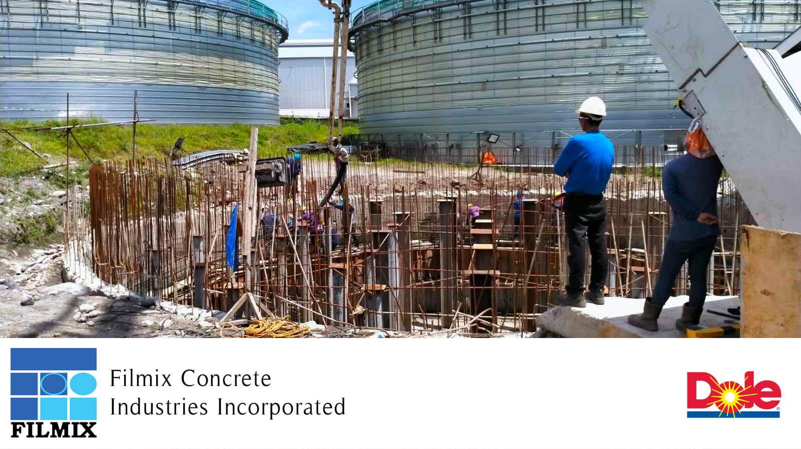 Biogas Power Plant construction Dole Inc