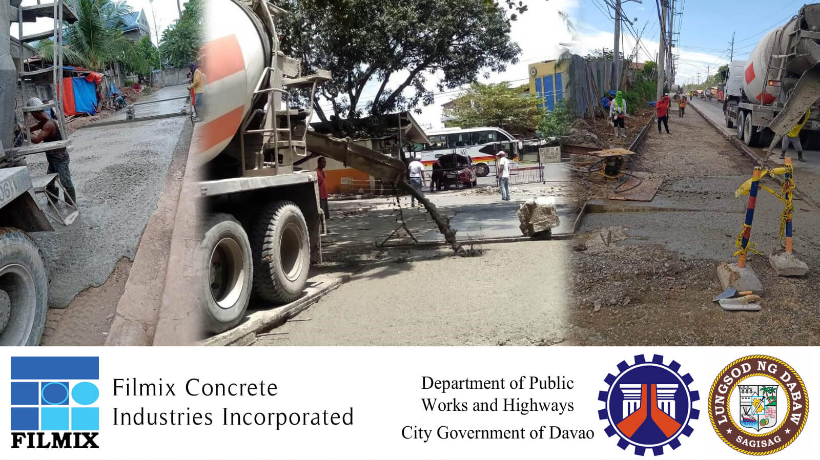Buy premium quality ready mix concrete in Davao from Filmix.