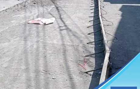Filmix ready mix concrete roadwork at Roxas Extension