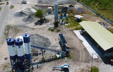 Filmix ready mix concrete new batch plant in Gensan