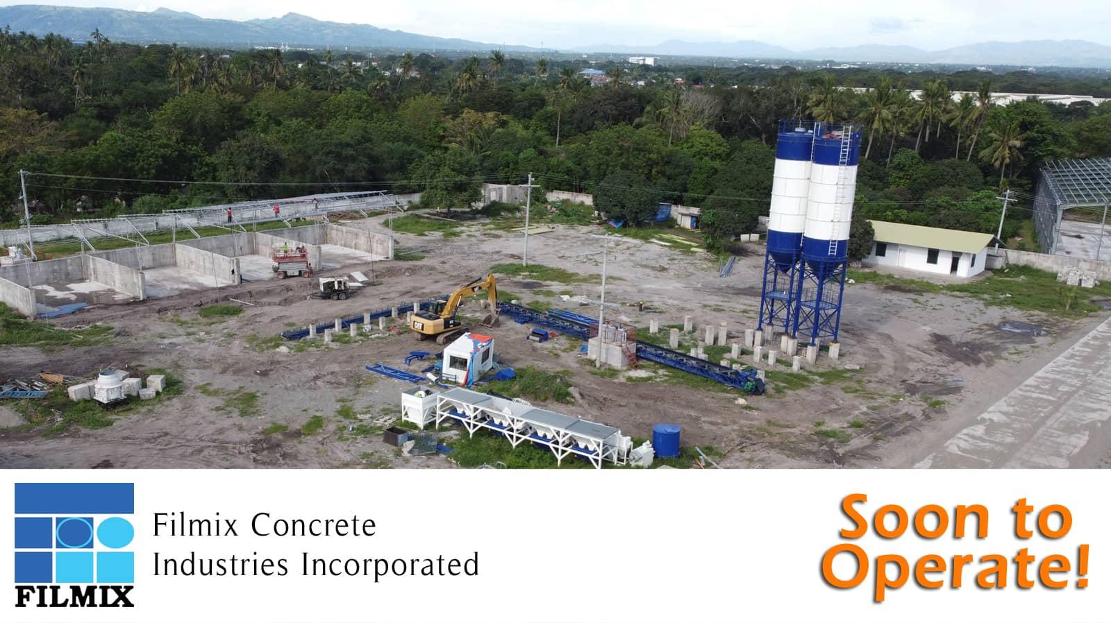 Ready mix concrete batching plant in Gensan