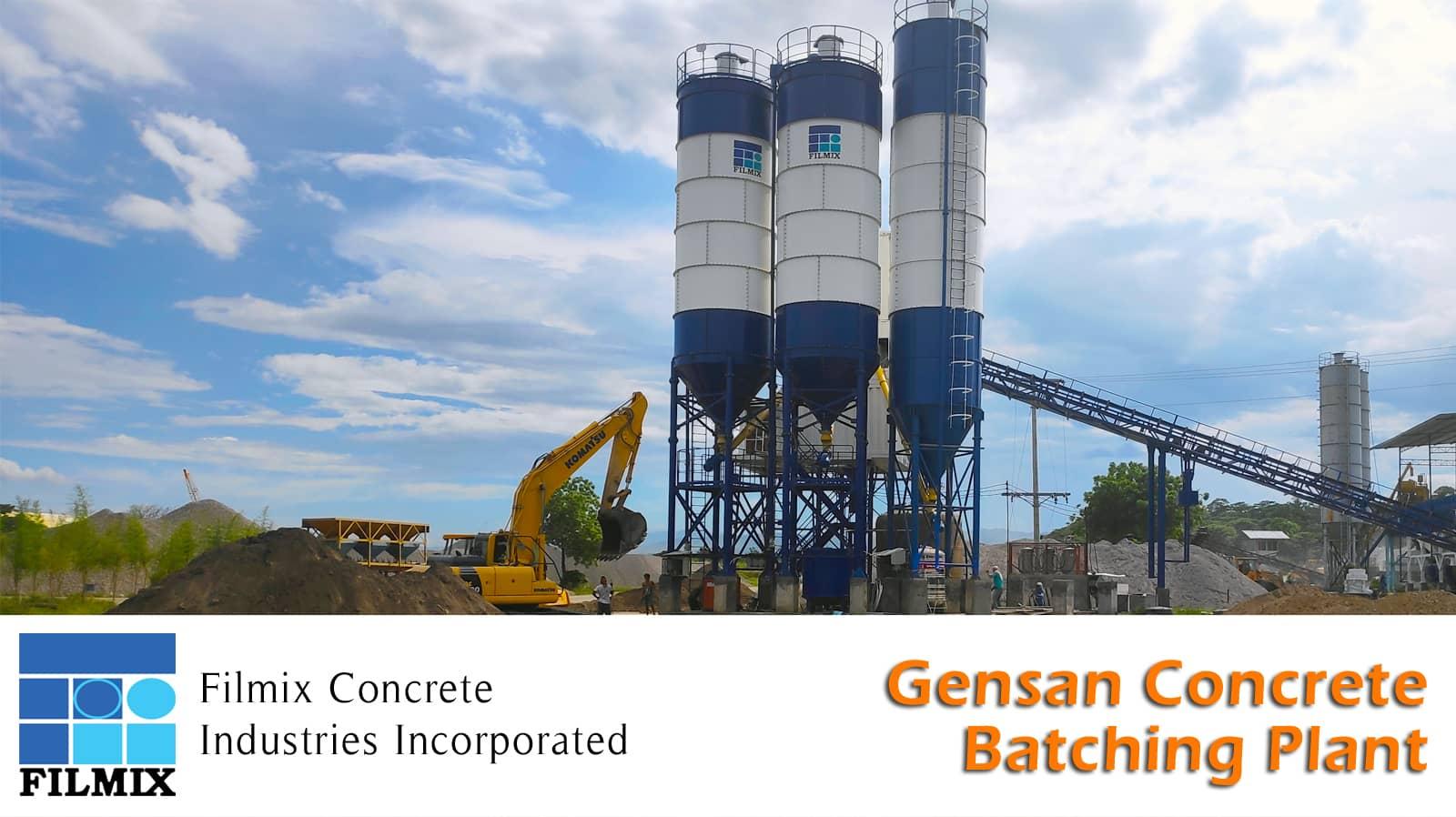 General Santos City concrete Batching Plant