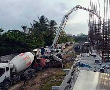 Davao Lane Residences pouring update 1
