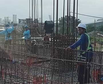 Davao Lane Residences pouring update 3