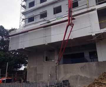 ready mix concrete pouring ace medical butuan city