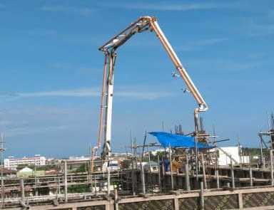 Ready mix concrete Davao Pouring for USEP 3