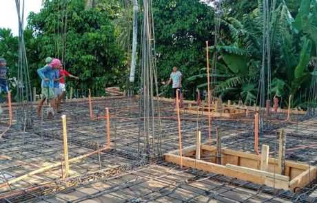Filmix pouring ready mix concrete for residential building in Tacurong City 3