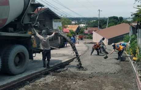 Mountain View, Maa roadwork project