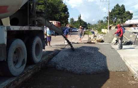 Roadwork project at Libby Road, Puan 4