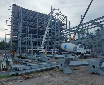 ACE Medical Center Gensan ready mix concrete pouring update 3