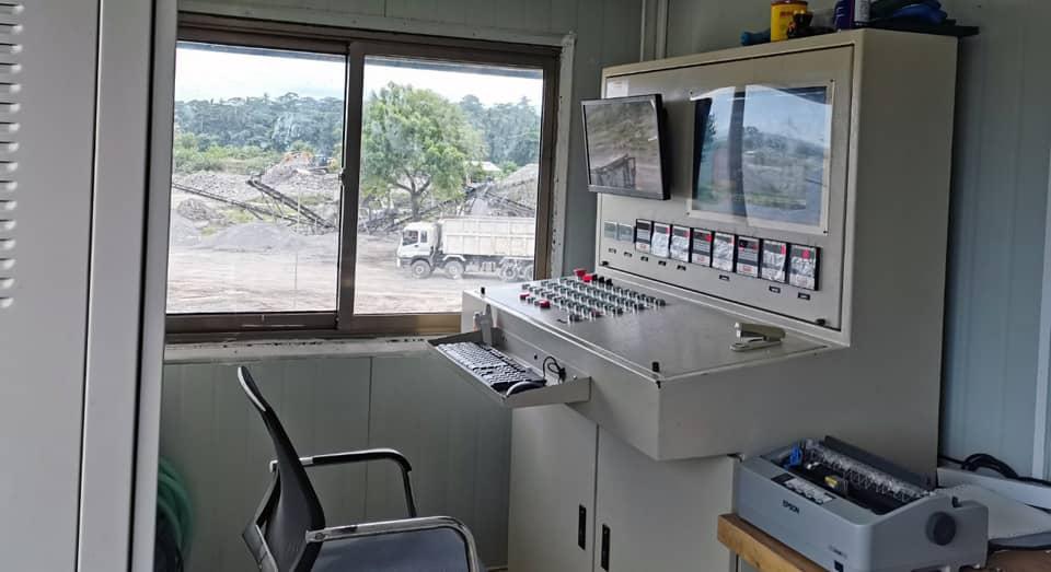 Filmix Batching Plant Control Room