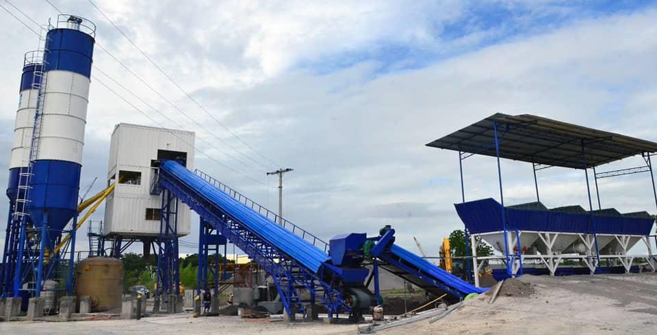 Filmix batching plant at General Santos City