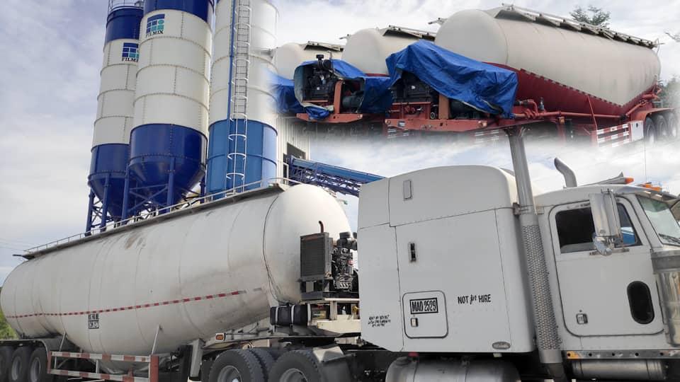 Bulk Cement Trucks from JY Enterprises Inc