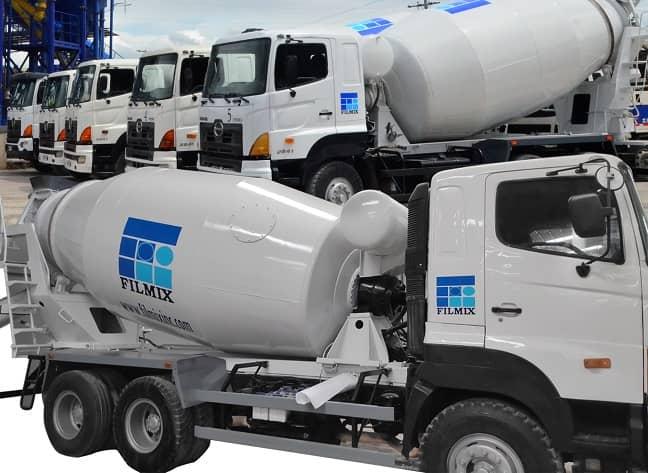 New Transit Mixer Trucks by Filmix